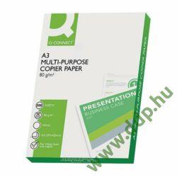 Fénymásolópapír A/3 80g 500ív/csomag Q-CONNECT -180049330-