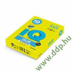 Színes fénymásolópapír A/4 80g IQ Color 500ív/csomag neon neon sárga