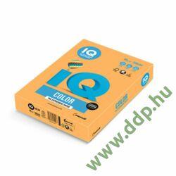Színes fénymásolópapír A/4 80g IQ Color 500ív/csomag neon neonnarancs -IQC480/N/NEOOR-