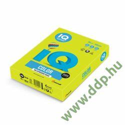 Színes fénymásolópapír A/4 80g IQ Color 500ív/csomag neon neon zöld