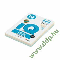 Színes fénymásolópapír A/4 80g IQ Color 5x50ív/csomag pasztell mix -180044522-