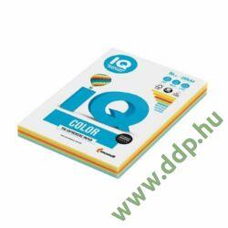 Színes fénymásolópapír A/4 80g IQ Color 5x50ív/csomag intenzív mix -180044492-
