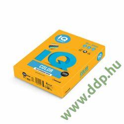 Színes fénymásolópapír A/4 80g IQ Color 500ív/csomag trend óarany -180036653/AG10-