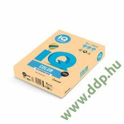 Színes fénymásolópapír A/4 80g IQ Color 500ív/csomag trend arany sárga -A4-25953/GO22-