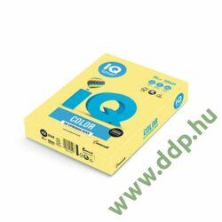 Színes fénymásolópapír A/4 80g IQ Color 500ív/csomag trend pasztell sárga/sötét -180037273/ZG34-