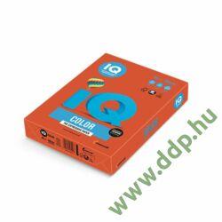 Színes fénymásolópapír A/4 80g IQ Color 500ív/csomag intenzív téglavörös