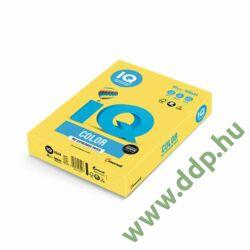 Színes fénymásolópapír A/4 80g IQ Color 500ív/csomag intenzív kanárisárga -180036727/CY39-
