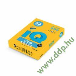 Színes fénymásolópapír A/4 80g IQ Color 500ív/csomag intenzív nap sárga -180037256/SY40-