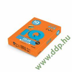 Színes fénymásolópapír A/4 80g IQ Color 500ív/csomag intenzív narancs -180037181/OR43-
