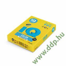 Színes fénymásolópapír A/4 80g IQ Color 500ív/csomag intenzív élénksárga -180036777/IG50-
