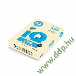 Színes fénymásolópapír A/4 80g IQ Color 500ív/csomag pasztell világossárga -180036677/BE66-
