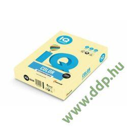 Másolópapír A/4 160g IQ COLOR 250ív/csomag pasztell sárga