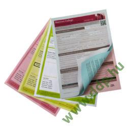 Önátíró papír PREMIUM DIGITAL CARBONLESS A/4 4pld W/Y/P/B XEROX -003R99111-