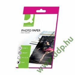 Fotópapír InkJet 10x15cm 260g 25ív fényes KF01906 Q-CONNECT