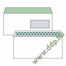 Boríték LC6/5 szilikonos ablakos jobb 35x90mm bélésnyomott EURO (1C=100db)