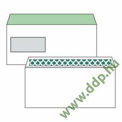 Boríték LC6/5 szilikonos ablakos bal 35x90mm EURO (1C=100db)
