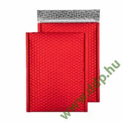 Tasak légpárnás szilikonos metallic 250x180mm C5+ piros