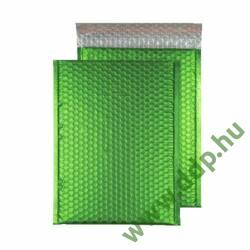 Tasak légpárnás szilikonos metallic 250x180mm C5+ zöld