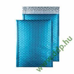 Tasak légpárnás szilikonos metallic 250x180mm C5+ világos kék