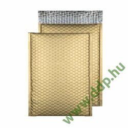 Tasak légpárnás szilikonos metallic 250x180mm C5+ arany