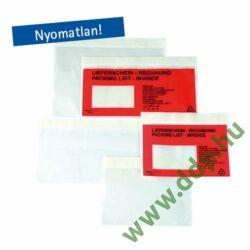 Csomagkísérő tasak Öntapadós C/5 240x165mm visszazárható 1350 -2FVDO230015-