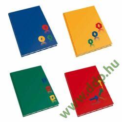 Beírókönyv egyszínű A/4 192 lap kockás -400028-