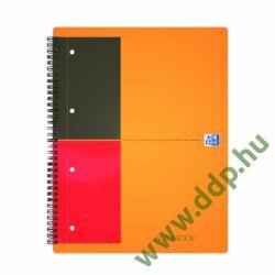 Spirálfüzet A/4 80 lap vonalas OXFORD Activebook