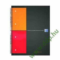 Spirálfüzet A/4 100 lap kockás OXFORD Filingbook