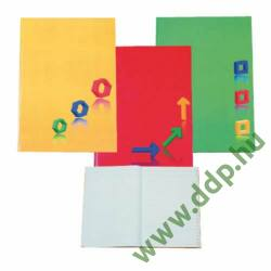 Mutató A/5 96lap EDUCA egyszínű ABC regiszteres -400032-