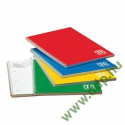 Spirálfüzet A/5 60lap 80g One Color vonalas 1149 -152050221-