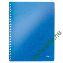 Spirálfüzet Leitz WOW, A4, vonalas, kék -46370036-