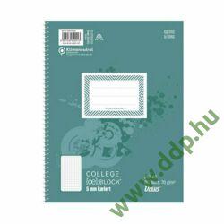 Spirálfüzet A/5 80lap kockás Collegeblock Ursus -44335020-