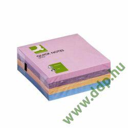 Öntapadós jegyzettömb 75x75mm 320lap ultra Q-CONNECT -FT510283078/KF02514-