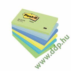 3M Post-it 655MTDR/655MT 76x127mm 100lap 6tömb Álmodozó színek öntapadós jegyzettömb