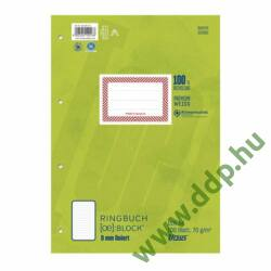 Gyűrűskönyv betét A/4 100lap vonalas -044380 10-