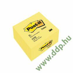 3M Post-it 636B 76x76mm 450lap pasztell sárga öntapadós jegyzettömb -FT510018763-