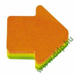 3M Post-it 2007A 140x92x23mm 225lap nyíl forma öntapadós jegyzettömb -FT510076647-