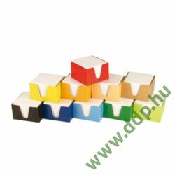 Kockatömb 9x9x6cm színes dobozos -FOR272034-