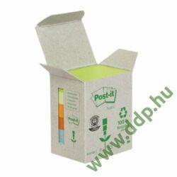 3M Post-it 653-1GB 51x38mm 6x100lap/csm Green Line vegyes öntapadós jegyzettömb -fT510118662-
