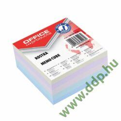 Kockatömb 85x85mm ragasztott pasztell színek OFFICE PRODUCTS -14053311-99-