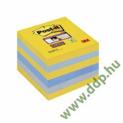 3M Post-it Super Sticky szivárványcsomag 76 × 76 mm,654-6SS NY 90 lap New York színei 6 tömb/csm