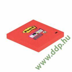 3M Post-it Super Sticky öntapadós jegyzettömb 76x76 mm, 90 lap, 654-6SS-PO -70005198125-
