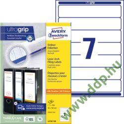 Etikett 4760 192x38mm 100ív L4760-100 Avery-Zweckform -L4760-100-