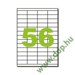 Etikett LCJ142 52,5x21,2mm 100ív KF10638 Q-CONNECT