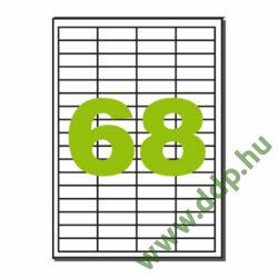 Etikett LCJ114 48,5x16,9mm 100ív Label