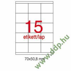 Etikett A1295 50,8x70mm 100ív Apli