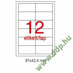 Etikett A1784 42,4x97mm 500ív Apli
