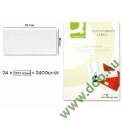 Etikett 70,0 x 35,0 mm 100 ív KF10645 Q-CONNECT