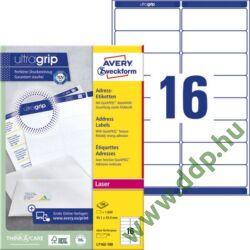 Etikett 7162 99,1x34mm 100ív L7162-100 Avery-Zweckform QuickPeel