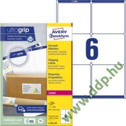 Etikett 7166 99,1x93,1mm 100ív L7166-100 Avery-Zweckform QuickPeel